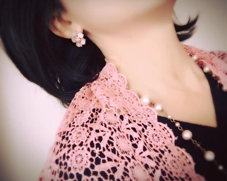 桜ショール